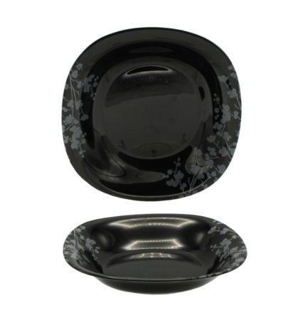 Тарелка OMBRELLE BLACK 21 см суповая