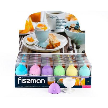 Подставка для яйца с крышкой FISSMAN