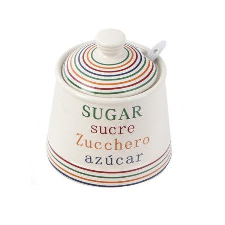 Сахарница FOR YOU с ложкой