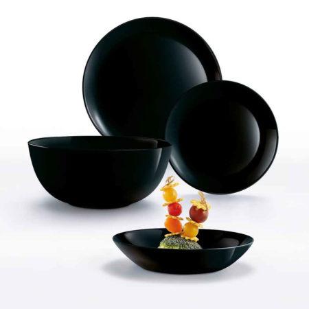 Сервиз DIWALI BLACK 19 предметов