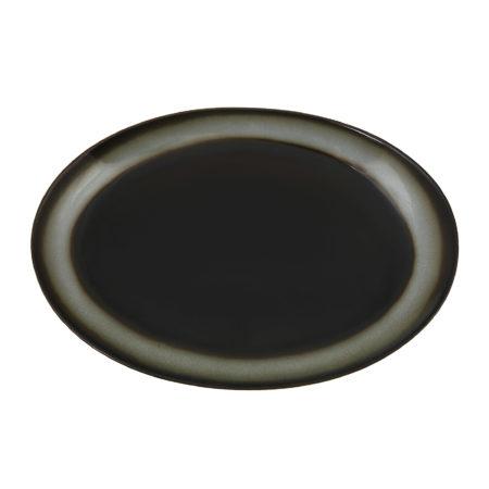 Блюдо овальное TREND CORTEN 30 см