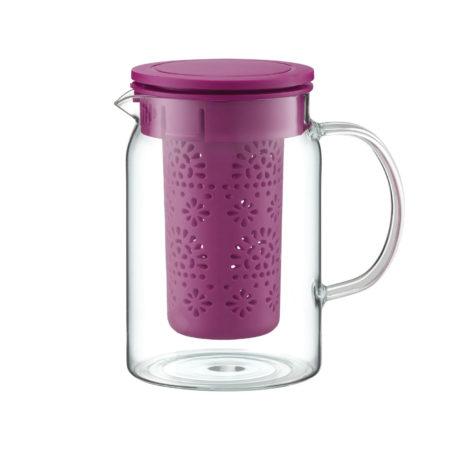 Чайник заварочный GLAMOUR 1,0 л с ситечком в ассортименте
