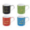 Кружка GLITTER&COLOUR COFFEE&TEA 350 мл