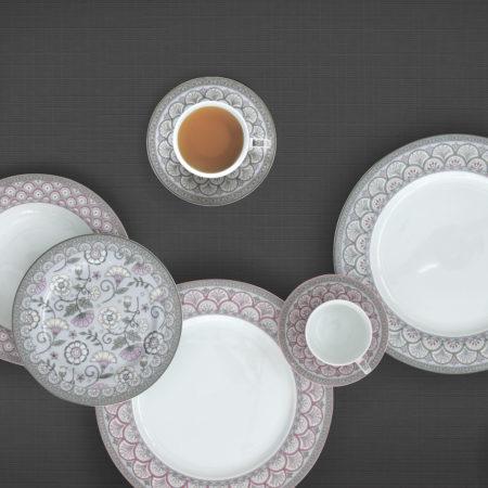 Набор кофейно-чайный KALAMKARI SAGE GREEN  240 мл 4 предмета