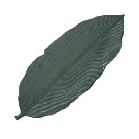 Блюдо MADAGASCAR 47×19 см зеленый