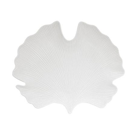 Блюдо MADAGASCAR 35×29 см белый