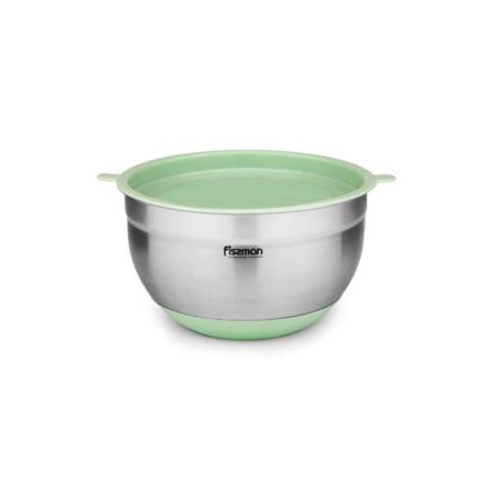 Миска с крышкой 4,5 л зеленый чай FISSMAN