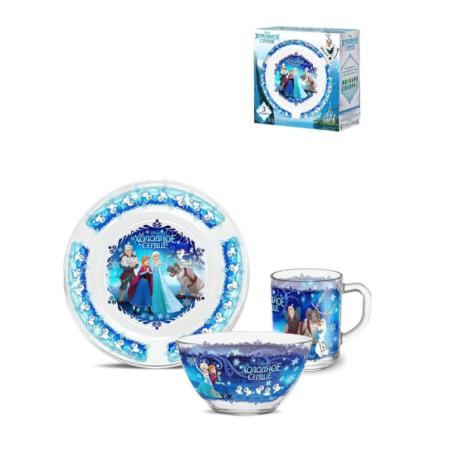 Набор посуды ХОЛОДНОЕ СЕРДЦЕ 3 предмета
