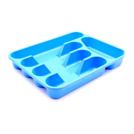 Лоток для столовых приборов TONTARELLI цвет голубой