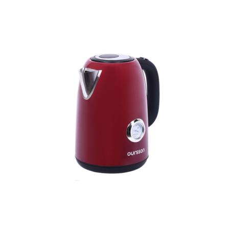 Чайник электрический OURSSON цвет тёмная вишня