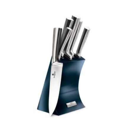 Набор ножей METALLIC LINE AQUAMARINE 6 предметов в подставке