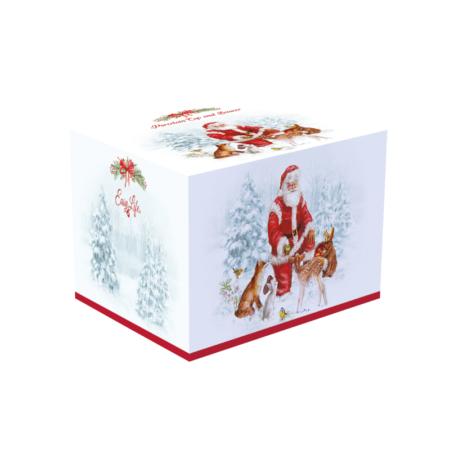Кружка с блюдцем CHRISTMAS CAROL 250 мл