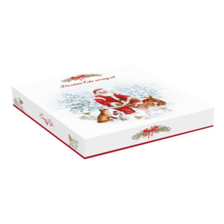 Набор для торта CHRISTMAS CAROL 30 см