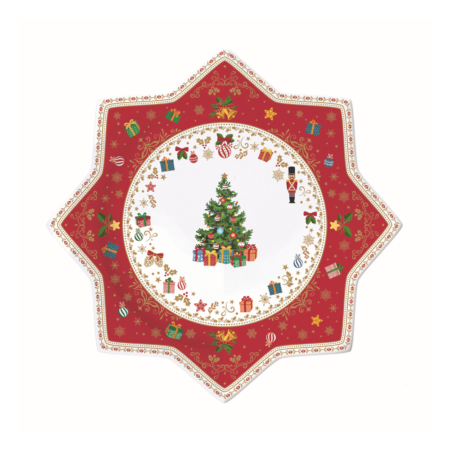 Блюдо CHRISTMAS ORNAMENTS 32 см