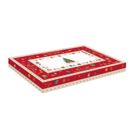 Блюдо CHRISTMAS ORNAMENTS 35 см х 23 см