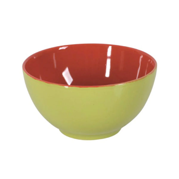 Салатник FUSION FRESH GREEN-RED 14,5 см