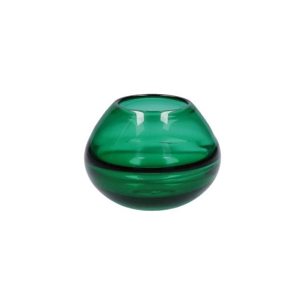 Ваза MAREA BUBBLE GREEN 13×9 см