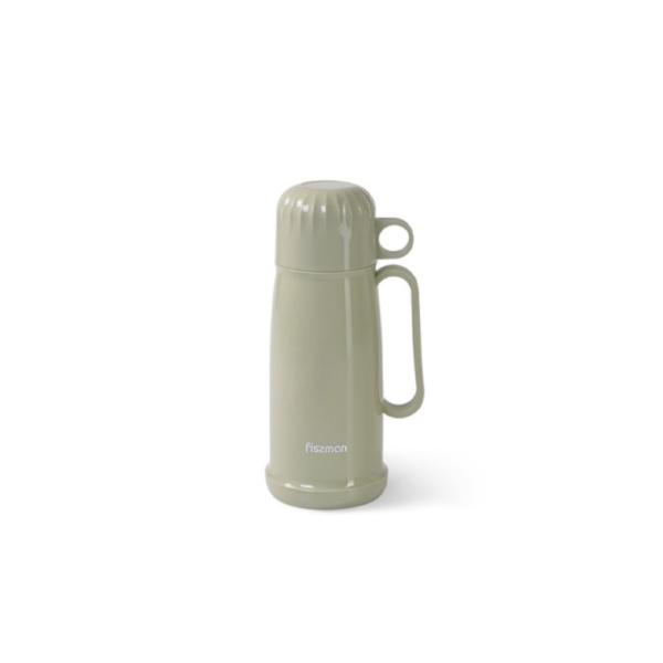 Термос 450 мл стеклянная колба оливковый FISSMAN