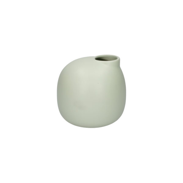 Ваза BELLOPASTELLO 17×17 см светло-зеленый