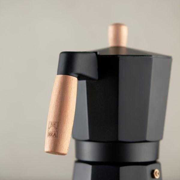 Кофеварка MARKET на 6 кружек цвет черный