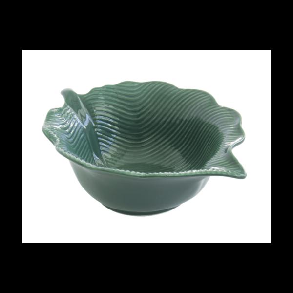 Салатник MADAGASCAR 21×16 см зеленый