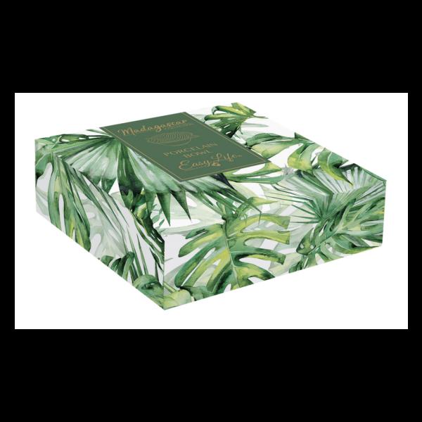 Салатник MADAGASCAR 21×16 см светло-зеленый