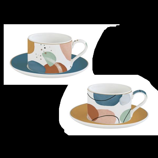 Набор чайный SHAPES COUNTRY 240 мл 2 пары