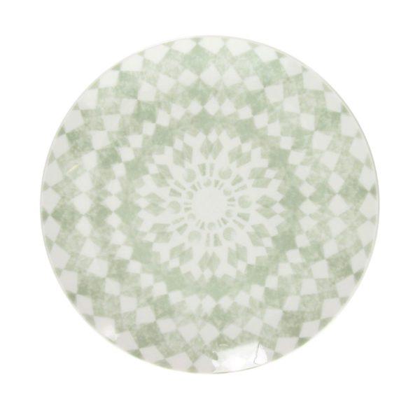 Тарелка GIPSY SOFT 19,5 см цвет зеленый