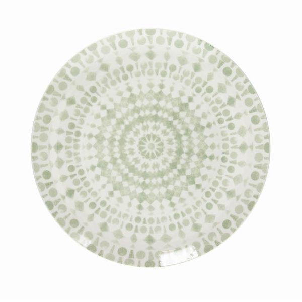 Тарелка GIPSY SOFT 27 см цвет зеленый