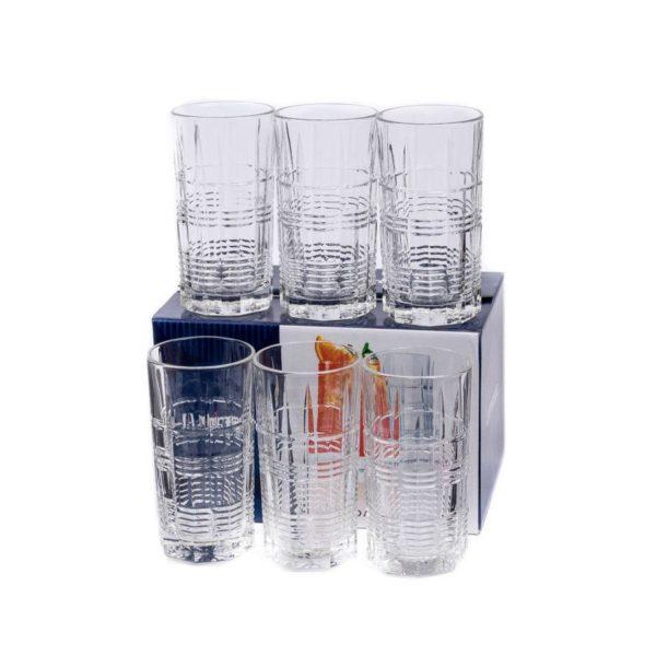 Набор стаканов ДАЛЛАС 380 мл 6 шт высокие