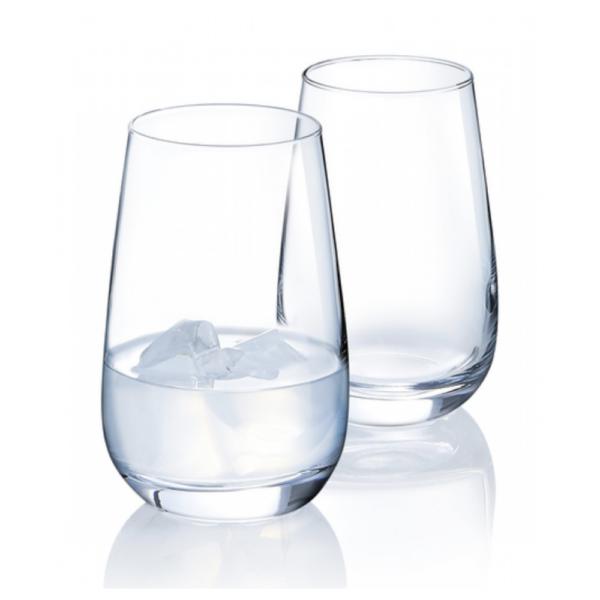 Набор стаканов ЛЕТНИЙ 350 мл 3 шт высокие