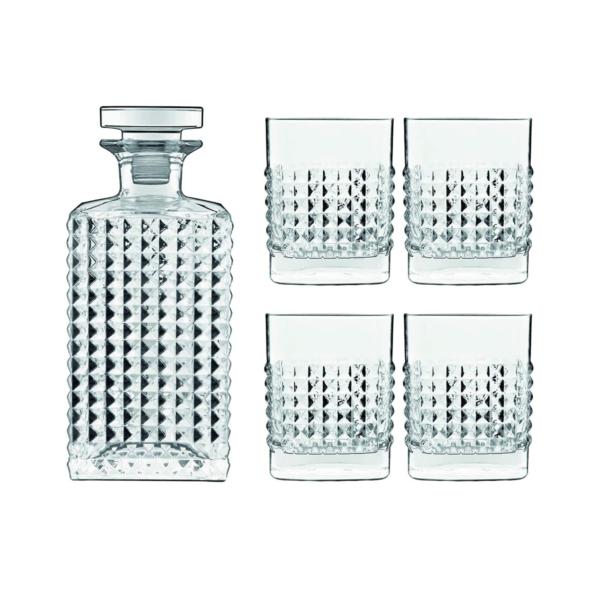 Набор MIXOLOGY ELIXIR WHISKY 5 предметов графин + 4 стакана