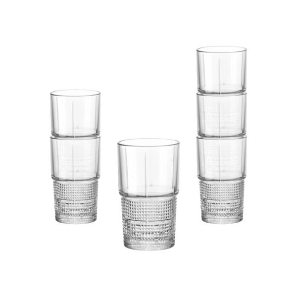Набор стаканов BARTENDER NOVECENTO 370 мл 6 шт