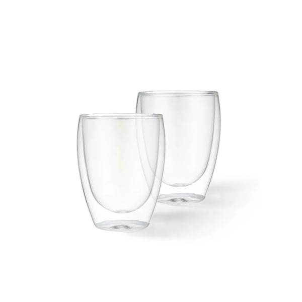 Набор стаканов ROMANO с двойными стенками 300 мл 2 шт FISSMAN