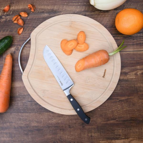 Нож CHEF DE CUISINE 13 см сантоку FISSMAN