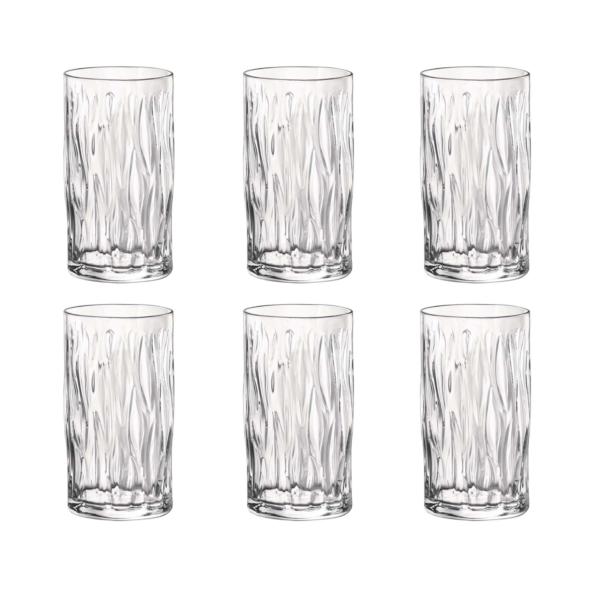 Набор стаканов BICCHIERI SOFFIATI WIND 485 мл 6 шт