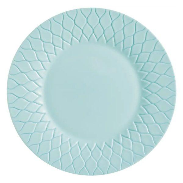 Тарелка обеденная AMARIO LIGHT TURQUOISE 28 см