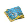 Салфетки КОСМОНАВТЫ бумажные 3-х слойные 33 х 33 см 20 шт