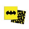 Салфетки БЭТМЕН бумажные 3-х слойные 33 х 33 см 20 шт цвет желтый
