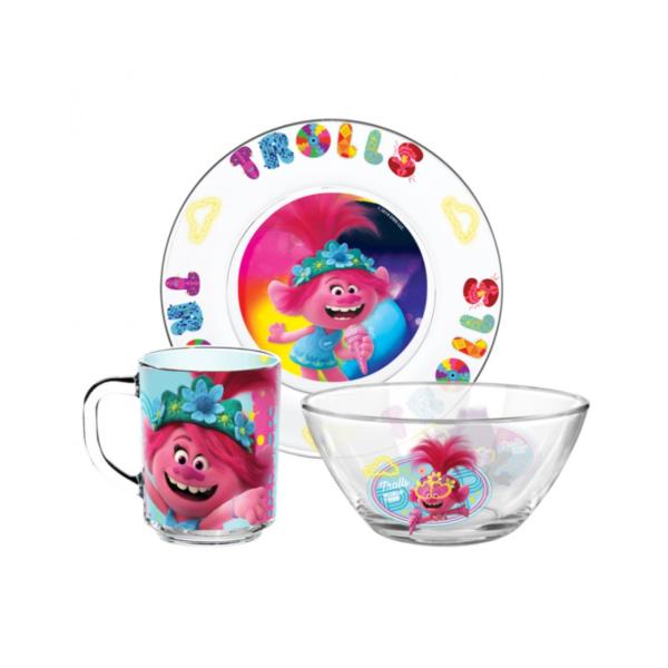 Набор посуды ТРОЛЛИ 3 предмета