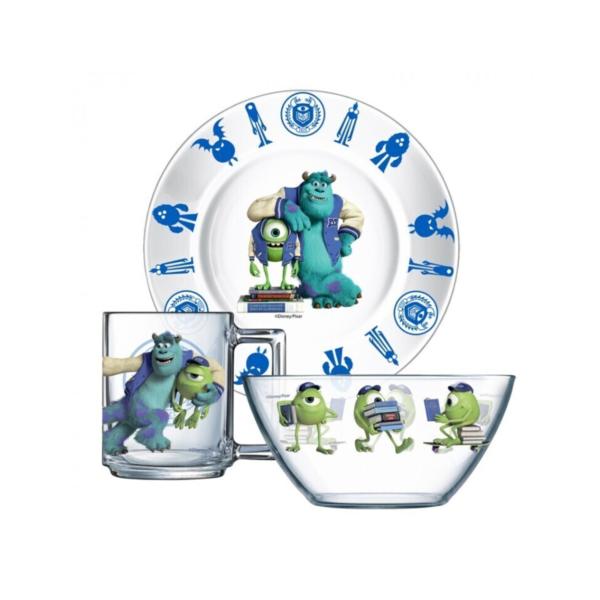 Набор посуды МОНСТРЫ 3 предмета