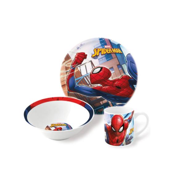 Набор посуды ЧЕЛОВЕК-ПАУК 3 предмета