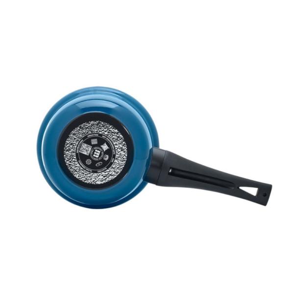 Ковш Максимус 1,6 л с крышкой цвет синий